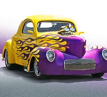 1941 Willys 'Pro Street' Coupe by DaveKoontz