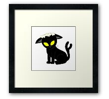 Pretty Alien Kitty Framed Print