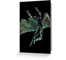 FLIGHT OF ICARUS - sun bleached Greeting Card