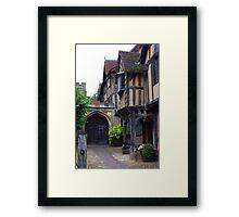 Warwick, UK Framed Print
