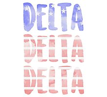 Tri Delta Photographic Print