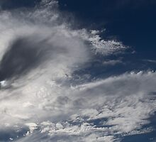 Dramatic Cloud Formations in Afternoon Sky by Gerda Grice