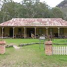The Hotel built in 1907 in Newnes now a Museum, New South Wales. by Rita Blom