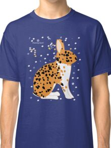 Black Spotted Japanese Rabbit Classic T-Shirt