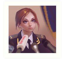 Natalia Poklonskaya Art Print