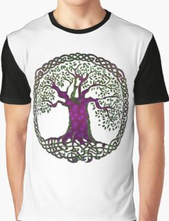 TREE OF LIFE - purple passion Graphic T-Shirt