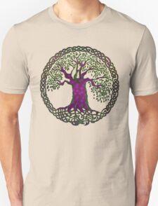 TREE OF LIFE - purple passion Unisex T-Shirt