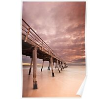 Grange Jetty - Adelaide, South Australia Poster