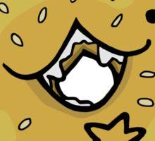 Sesame Bagel :: Carnivorous Foods Series Sticker