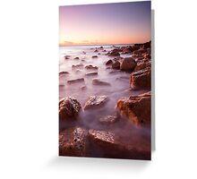 Coastline Ocean - South Australia Greeting Card