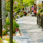 Main St FALMOUTH on CAPE COD by Elizabeth Thomas