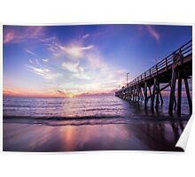 Semaphore Jetty South Australia Poster