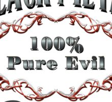 BLACK METAL - 100% PURE EVIL Sticker