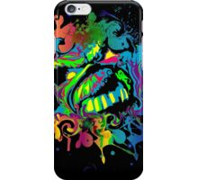 VIBRANT ABSTRACT ZOMBIE - small design iPhone Case/Skin