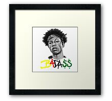 badass Framed Print