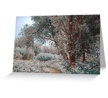 Ethereal Feel. Nature in the Alien Skin Greeting Card