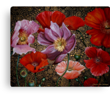 The Poppy Collective Canvas Print