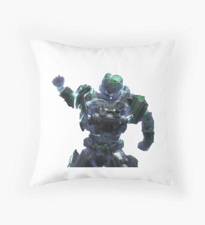 Fuck Yeah Armor Lock P/B - White Throw Pillow