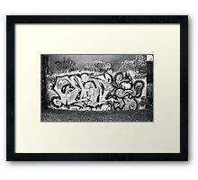 Graffiti - Rushall Framed Print