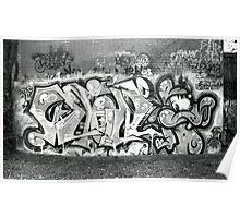 Graffiti - Rushall Poster