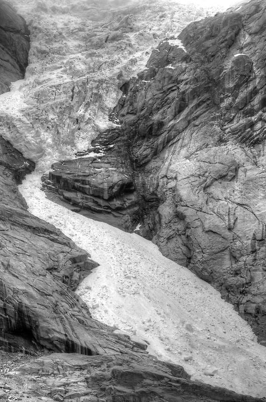 Briksdal Glacier in Norway by Steve