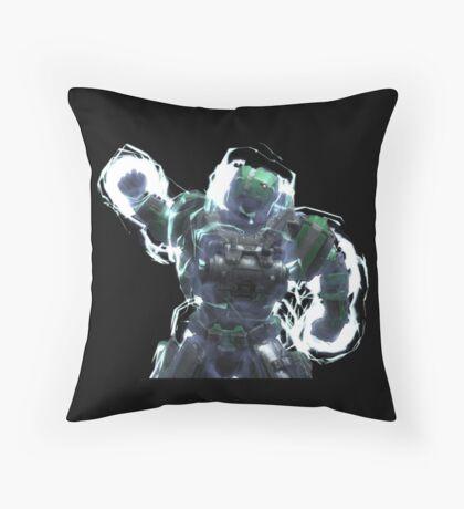 Fuck Yeah Armor Lock P/B - Black Throw Pillow