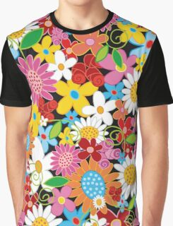 Spring Flowers Power Graphic T-Shirt