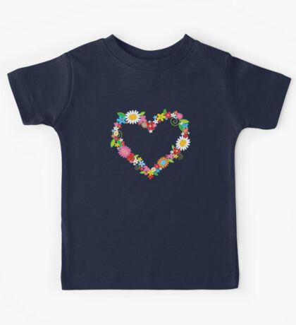 Spring Flowers Power Kids Clothes