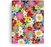 Spring Flowers Power Canvas Print