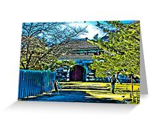 Castle In Dreamland Greeting Card