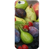 Harvest Organic Vegetables iPhone Case/Skin