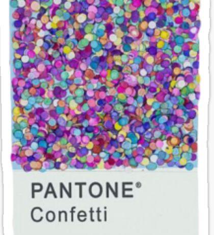 Confetti Sticker