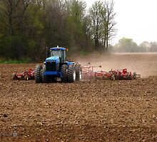 Cultivating the Soil in May by JMcCombie