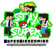 Stay Super! - SuperSibsGaming Photographic Print