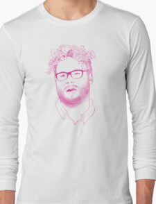 seth in pink Long Sleeve T-Shirt