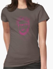 seth in pink Womens Fitted T-Shirt