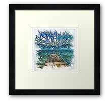 The Atlas of Dreams - Color Plate 197 Framed Print