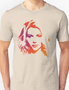 Cutout Series: 01 Scarlett Johansson Unisex T-Shirt