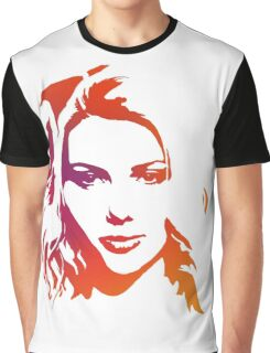 Cutout Series: 01 Scarlett Johansson Graphic T-Shirt