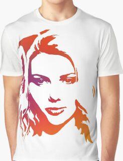 Cutout Series: 01 Scarlett Johansson Graphic T-Shirt
