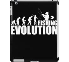 fishing evolution iPad Case/Skin