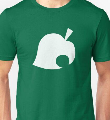 Animal Crossing Leaf Unisex T-Shirt