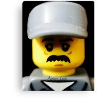 Lego Janitor minifigure Canvas Print