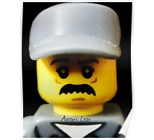 Lego Janitor minifigure Poster