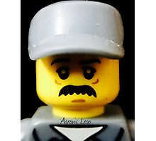Lego Janitor minifigure Photographic Print