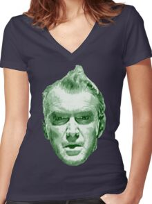 Jim Stewart - Vertigo (Dream Sequence) Women's Fitted V-Neck T-Shirt