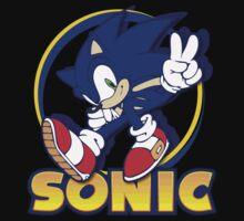 Sonic the Hedgehog Baby Tee