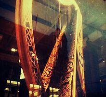 Golden Harp by Denise Abé