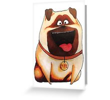 The secret life of pets - Mel  Greeting Card