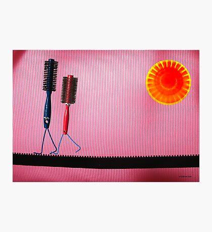 Brush Love Photographic Print